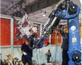 广州长科自动化保养案例-YASKAWA安川机器人保养