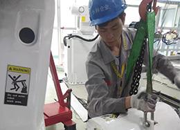 ABB机器人保养现场实拍